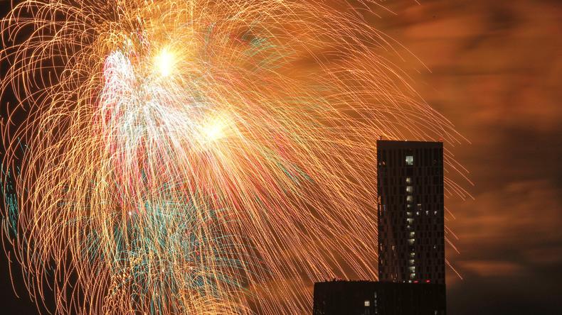 LIVE aus Moskau: Feuerwerk zum 74. Jahrestag des Siegestages