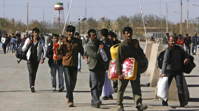 """Drohung aus dem Iran: """"Können wir kein Öl exportieren, müssen alle Afghanen den Iran verlassen"""""""