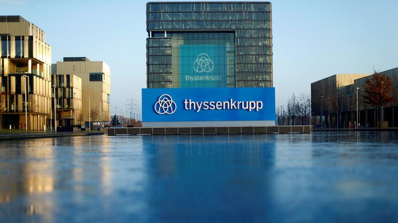 Industriekonzern Thyssenkrupp kündigt Entlassungen an: In Deutschland sollen 4.000 Jobs wegfallen