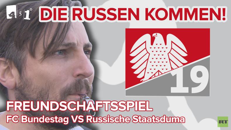 Völkerball: FC Bundestag vs. Russische Staatsduma| 451 Grad