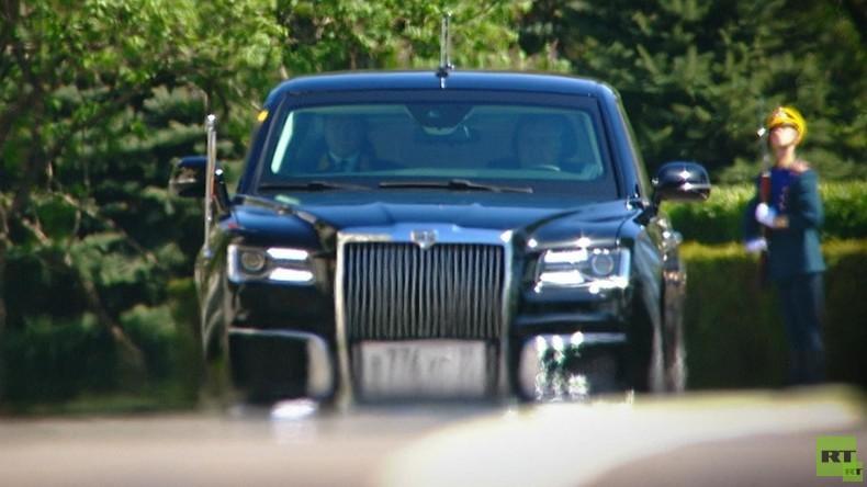 Einmal in Russland: Aurus - Putins Luxuswagen für den freien Markt