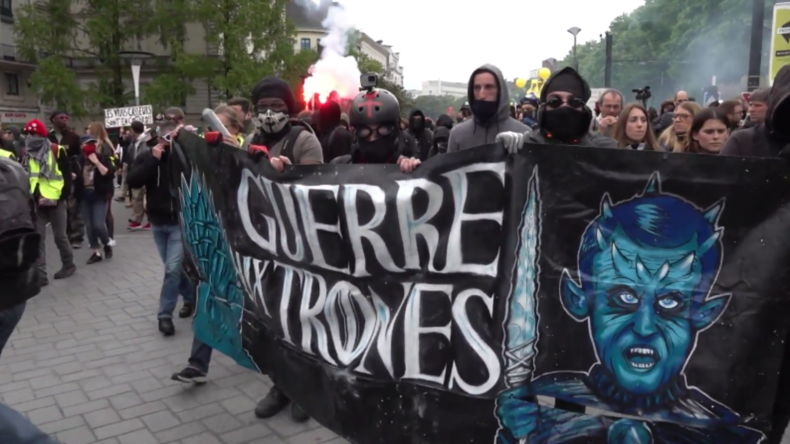 Frankreich: Gelbwesten marschieren in der 26. Woche –Ausschreitungen in Lyon und Nantes