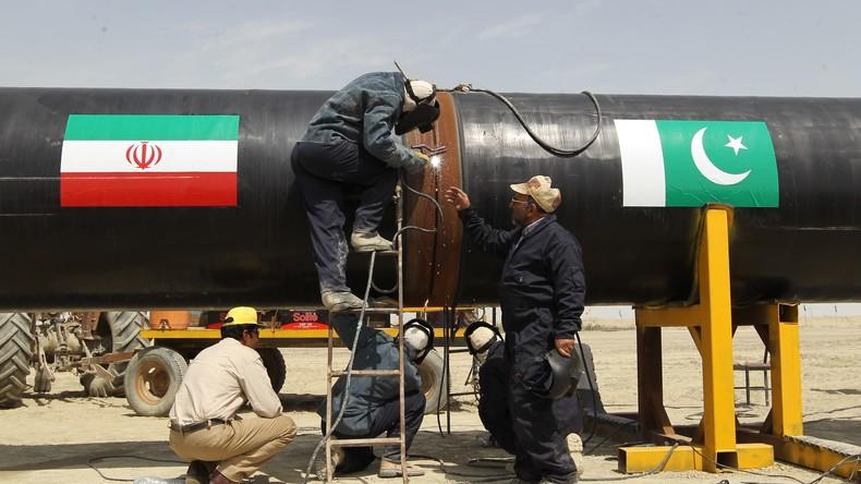 Iranisch-pakistanisches Pipeline-Projekt wegen US-Sanktionen in Gefahr
