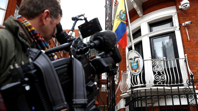 Ecuador will alle persönlichen Dokumente und Gegenstände von Julian Assange an USA übergeben