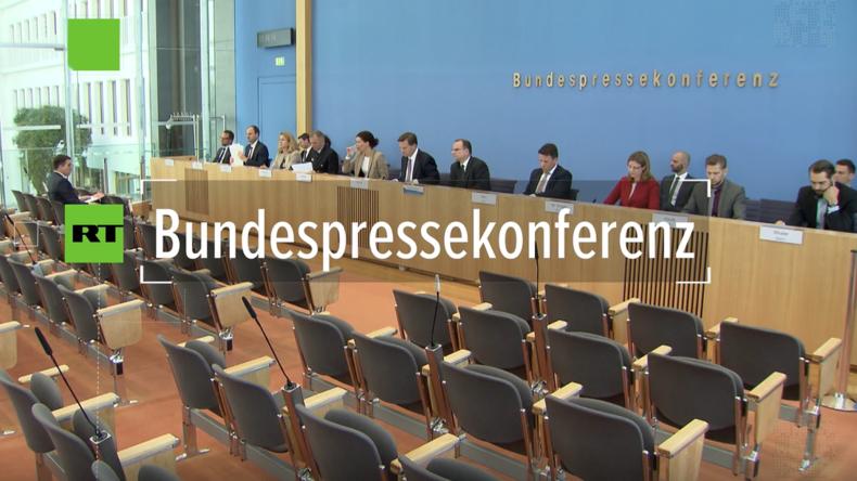 Bundespressekonferenz: Ist die iranische Reaktion auf einseitigen US-Ausstieg wirklich illegal?