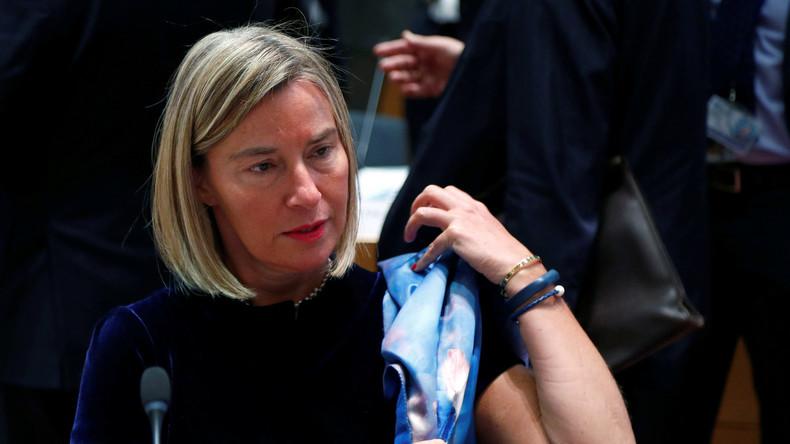 LIVE: Federica Mogherini gibt nach Außenministertreffen in Brüssel Pressekonferenz