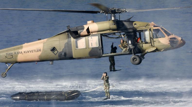 """Auf drei Meeren: Türkei beginnt großes Militärmanöver """"Seewolf"""""""