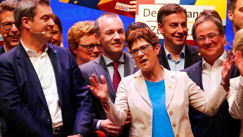 """Kramp-Karrenbauer: """"Ich arbeite nicht auf einen mutwilligen Regierungswechsel hin"""""""