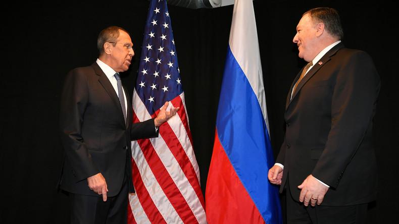 LIVE: US-Außenminister Mike Pompeo trifft in Sotschi auf Amtskollegen Sergej Lawrow
