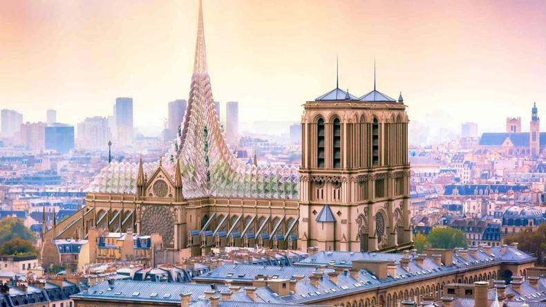 Umstrittenes Restaurierungsprojekt für Notre Dame de Paris in Frankreich vorgestellt