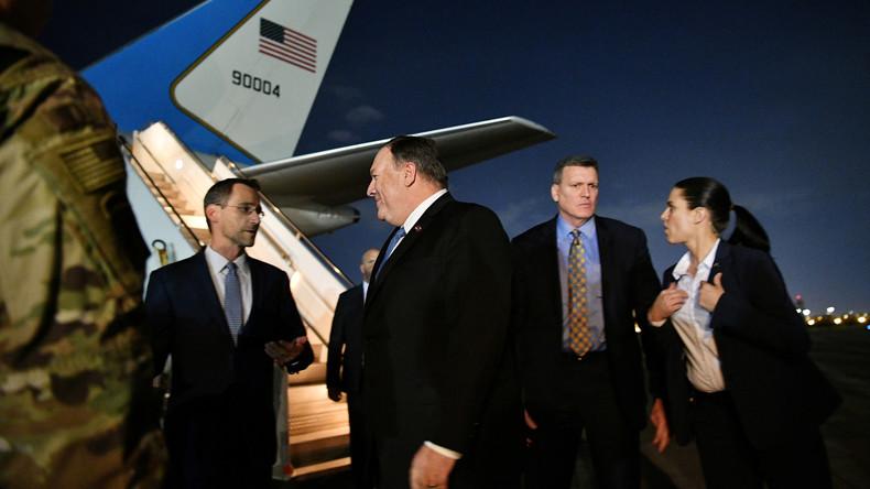 """USA befehlen Abzug ihres gesamten zivilen Personals aus dem Irak – Nur """"Notfallpersonal"""" bleibt"""