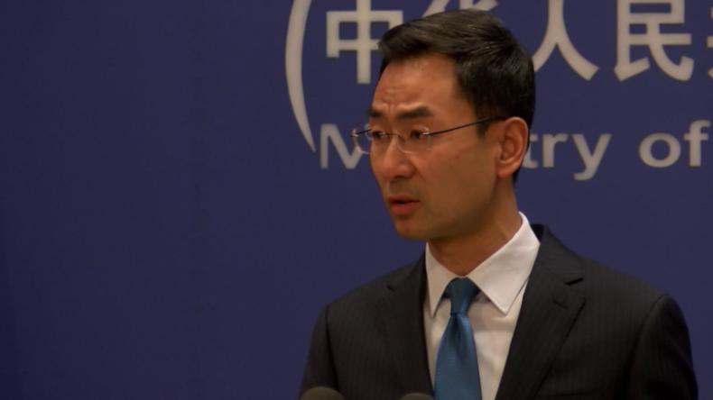 """Sprecher des chinesischen Außenministeriums: """"Wir fürchten keinen Handelskrieg mit den USA"""""""