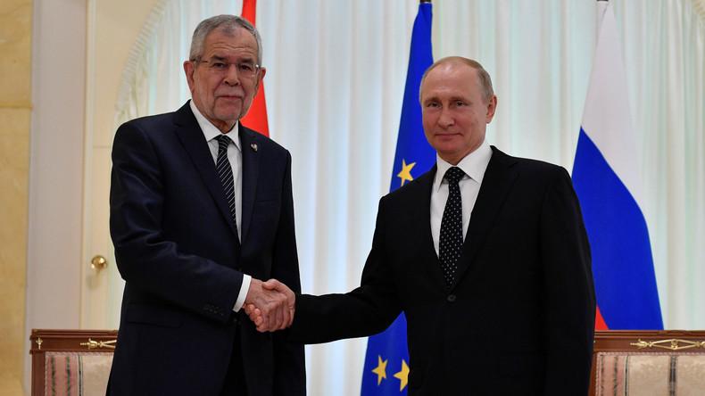 LIVE: Wladimir Putin und Österreichs Präsident Van der Bellen treffen sich in Sotschi