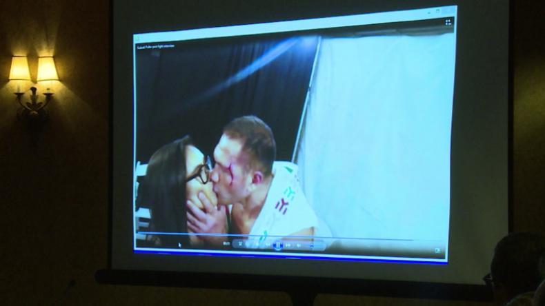 Weil er Reporterin küsste: US-Sportkommission bestraft Boxer Kubrat Pulev
