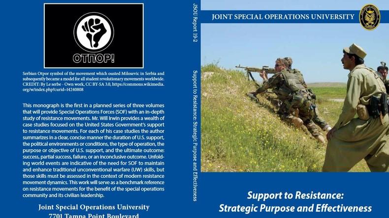 """""""Putsch-Handbuch"""" der US-Militärakademie für Spezialeinsätze – Was steht drin? (Video)"""