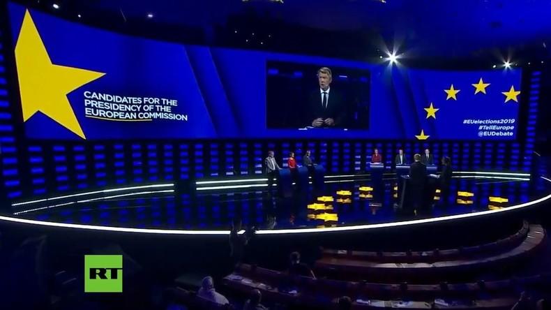 LIVE: Europäisches Parlament hält Präsidentschaftsdebatte