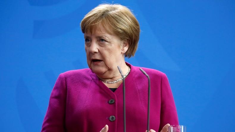 Merkel dementiert: Stehe für kein weiteres politisches Amt zur Verfügung