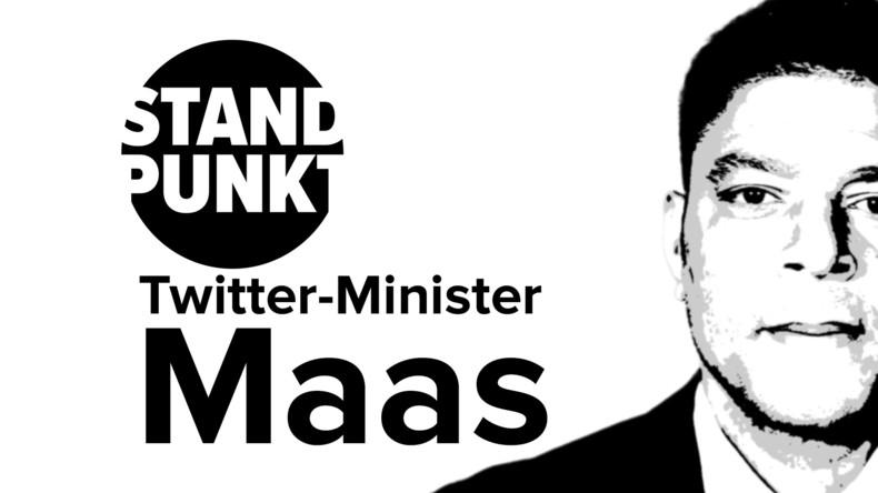 """Twitter-Minister Maas über Iran, Nato, Venezuela: Eine Garderobe voller """"westlicher Werte"""""""