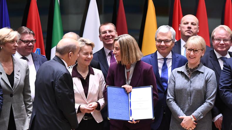 Nach US-Drohbrief: EU weist Kritik an Verteidigungsunion zurück