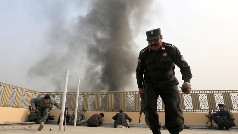 """NATO-Luftschläge töten 17 afghanische Polizisten: """"War ein Versehen"""""""