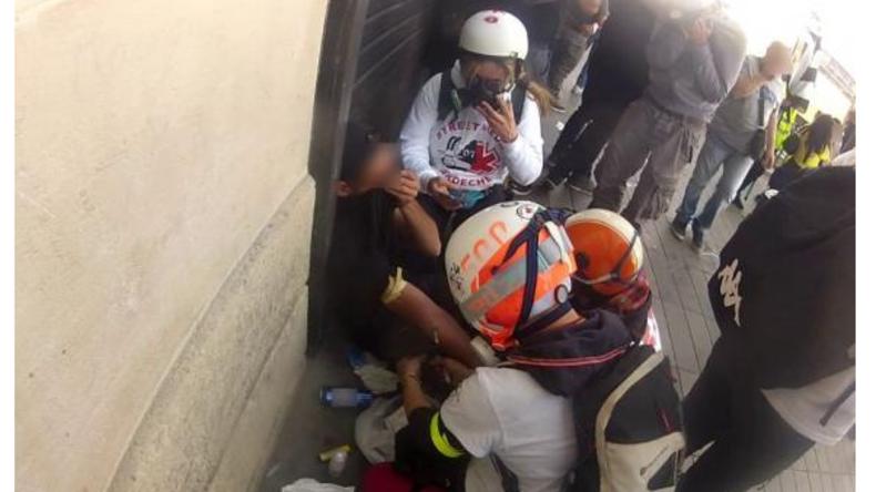 Frankreich: Mysteriöse Gruppe entnimmt Gelbwesten Blut während Demonstrationen