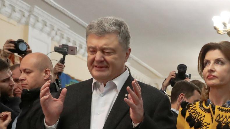 Ukraine: Gericht eröffnet Verfahren über Ausreiseverbot für Poroschenko, Parlamentschef und Premier