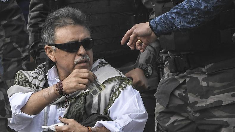 Kolumbianische Behörden inhaftieren früheren FARC-Kommandeur gleich nach Freilassung