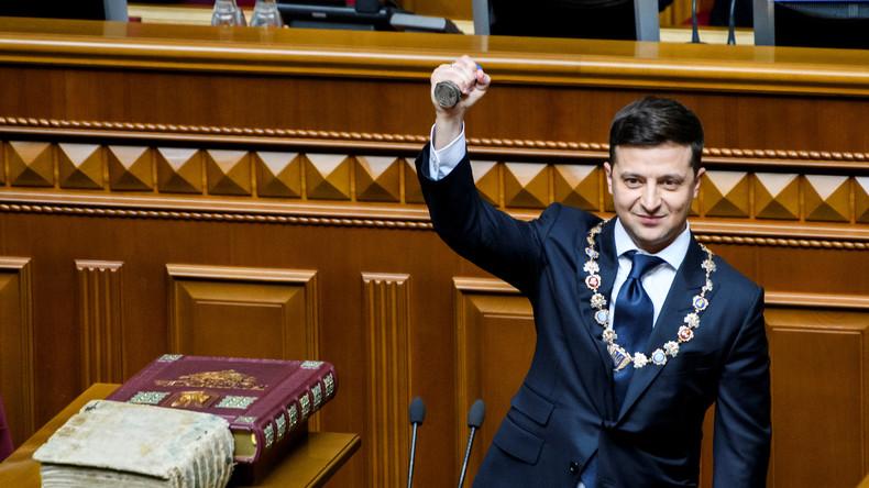 Ukraine: Präsident Wladimir Selenskij wird Parlament auflösen