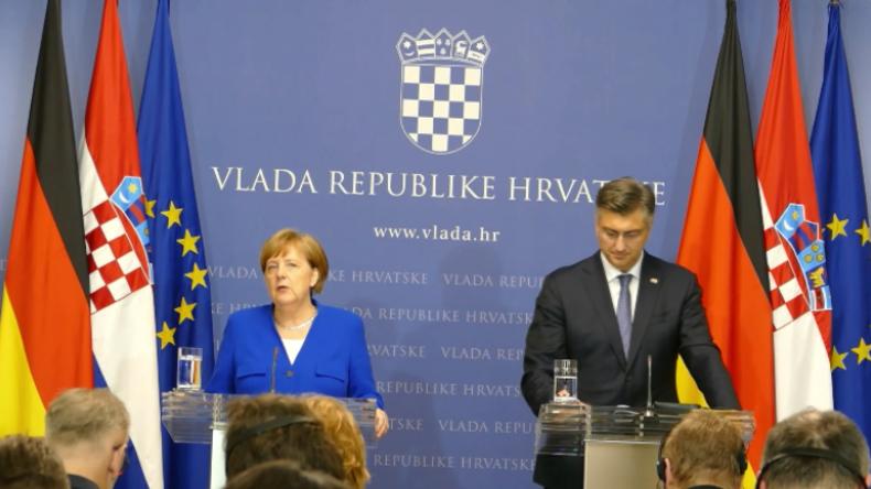 Merkel angesichts des Strache-Videoskandals: Müssen entschieden gegen Rechtspopulismus vorgehen