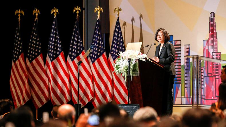 Lachender Dritter? Taiwans Präsidentin sieht Vorteile durch Handelsstreit zwischen USA und China