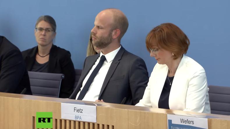 """BPK: """"Bundeswehr-Termin verhinderte leider Teilnahme der Kanzlerin an Amtseinführung von Selenskij"""""""