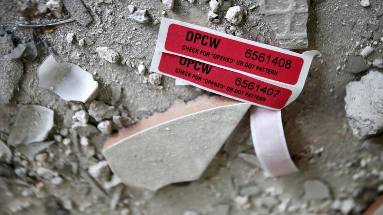 OPCW-Leak: Giftgasangriff von Duma eine Inszenierung? (Video)