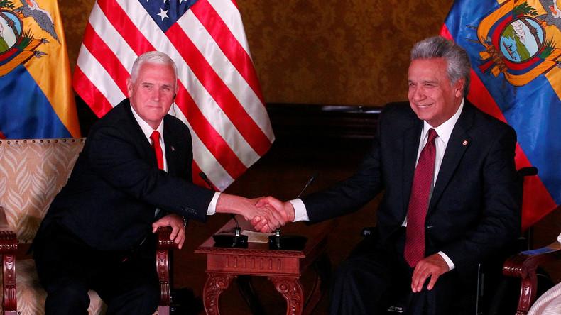Der Fall Assange: USA und Ecuador plötzlich wieder beste Freunde (Video)