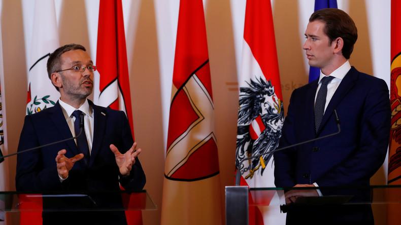 Österreich: Bundeskanzler Kurz entlässt Innenminister Kickl