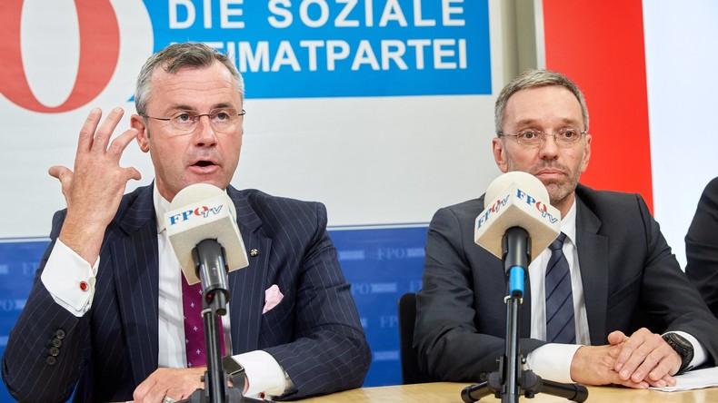 Österreich: Alle FPÖ-Minister treten zurück