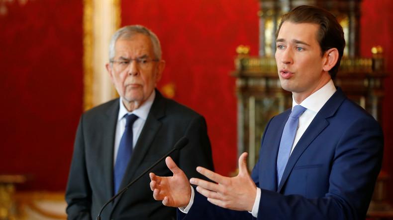 LIVE: Kanzler Kurz und österreichischer Bundespräsident Van der Bellen geben Erklärung ab