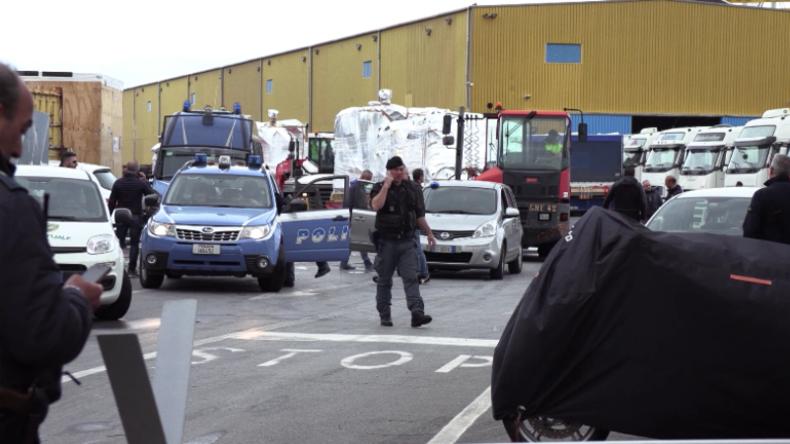 Italien - Genua: Hafenarbeiter weigern sich, Ausrüstung auf saudisches Schiff zu befördern
