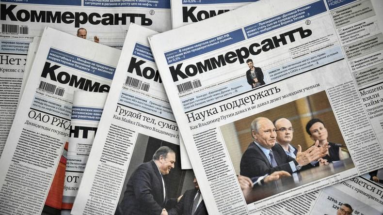 Kommersant: Journalisten verlassen Russlands renommierte Tageszeitung nach kritischem Bericht