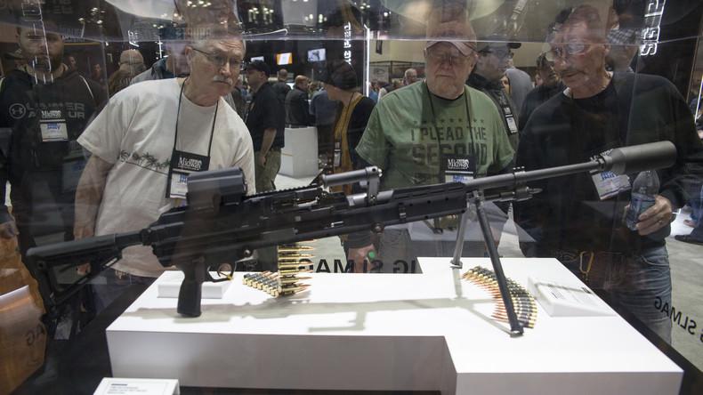 US-Waffenhandel: Gratisproben für potenzielle Kunden (Video)
