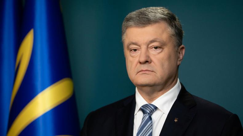 Schwerer Abschied: Petro Poroschenko gibt sich bei Twitter noch immer als Präsident aus