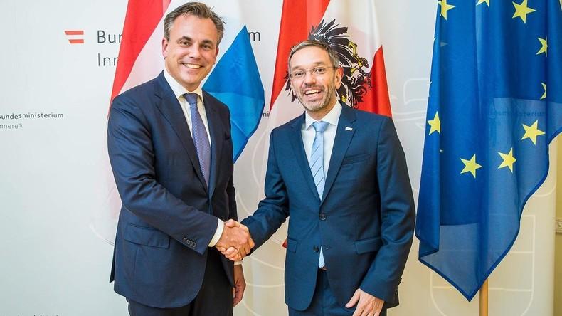Wegen Verharmlosung von Flüchtlingskriminalität: Niederländischer Minister tritt zurück