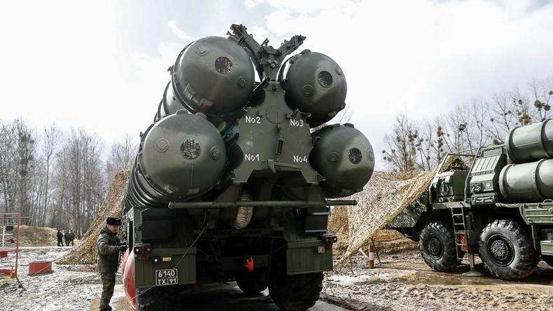 Türkische Militärs beginnen mit Ausbildung an S-400-Systemen
