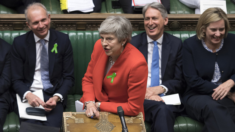LIVE: Theresa May stellt sich Fragen im House of Commons