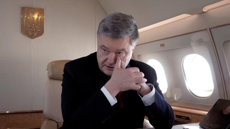 Ukraine eröffnet Hochverratsverfahren gegen Poroschenko wegen des Vorfalls in der Straße von Kertsch