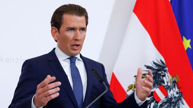 LIVE: Regierungskrise in Österreich – Kanzler Kurz gibt Presseerklärung zum Fall Strache