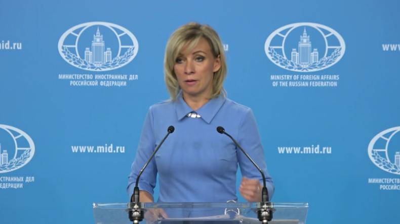 Iran, Irak, Venezuela und Syrien: Russische Außenministeriumssprecherin teilt gegen USA aus