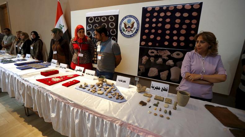Die Kunst der Terrorfinanzierung: Gestohlene Artefakte als lukratives Geschäft (Video)