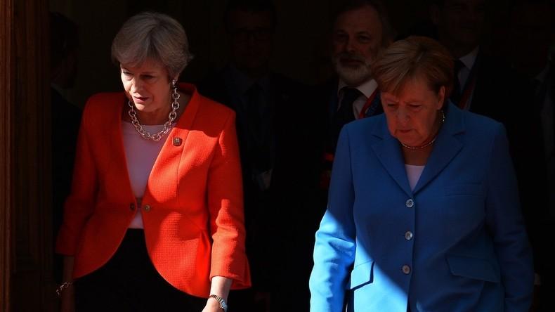 """Merkel begegnet der Entscheidung zum Rücktritt von Theresa May """"mit Respekt"""""""