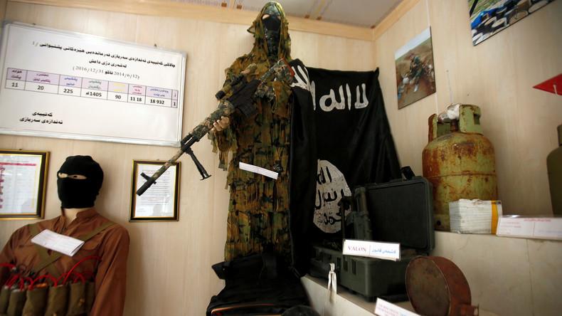 Irak: Drei französische IS-Mitglieder zum Tode verurteilt