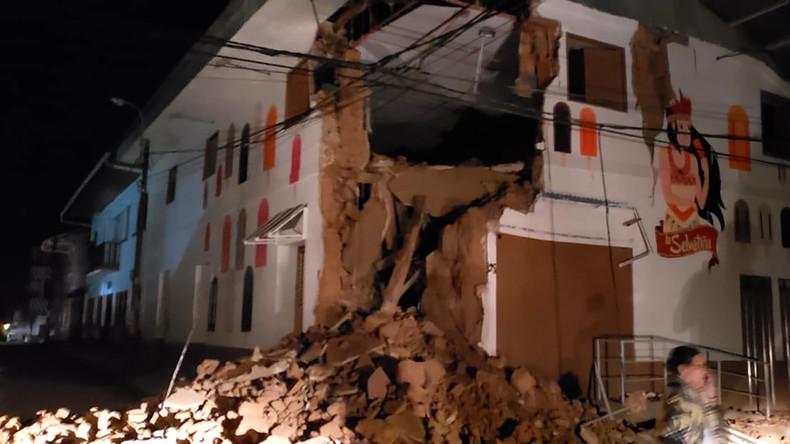 Beben der Stärke 8,0 in Peru: Die Erde wackelt auch in Ecuador, Kolumbien und Brasilien